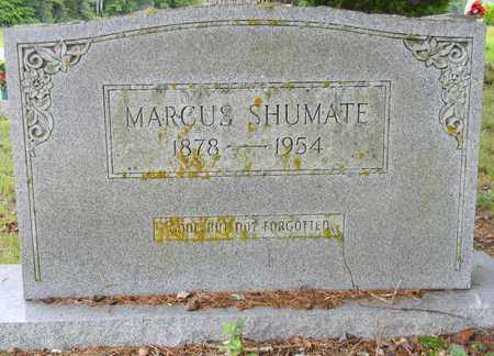 SHUMATE, MARCUS - Marshall County, Alabama | MARCUS SHUMATE - Alabama Gravestone Photos