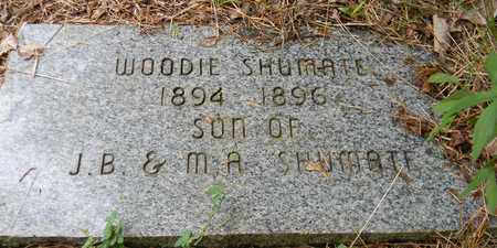 SHUMATE, WOODIE - Marshall County, Alabama | WOODIE SHUMATE - Alabama Gravestone Photos