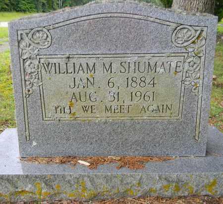 SHUMATE, WILLIAM M - Marshall County, Alabama | WILLIAM M SHUMATE - Alabama Gravestone Photos