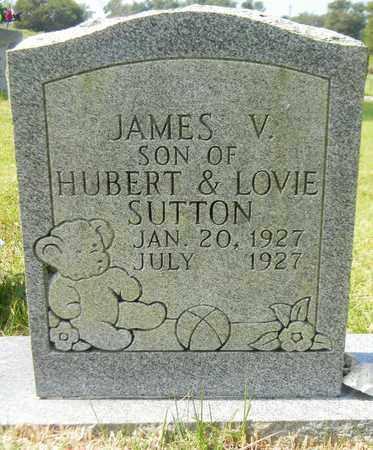 SUTTON, JAMES V - Marshall County, Alabama | JAMES V SUTTON - Alabama Gravestone Photos