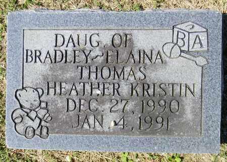 THOMAS, HEATHER KRISTIN - Marshall County, Alabama   HEATHER KRISTIN THOMAS - Alabama Gravestone Photos