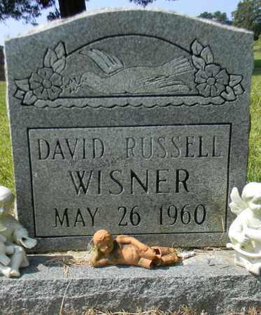 WISNER, DAVID RUSSELL - Marshall County, Alabama | DAVID RUSSELL WISNER - Alabama Gravestone Photos