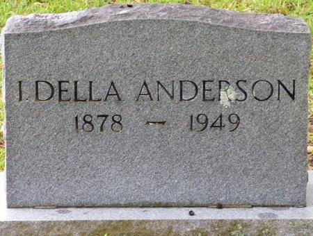 ANDERSON, I. DELLA - Montgomery County, Alabama | I. DELLA ANDERSON - Alabama Gravestone Photos