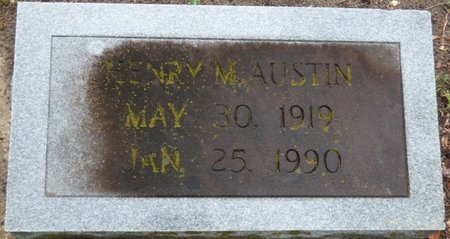 AUSTIN, HENRY M - Montgomery County, Alabama   HENRY M AUSTIN - Alabama Gravestone Photos