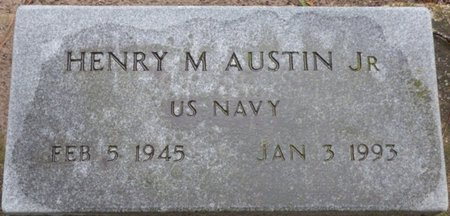 AUSTIN JR. (VETERAN), HENRY M - Montgomery County, Alabama | HENRY M AUSTIN JR. (VETERAN) - Alabama Gravestone Photos