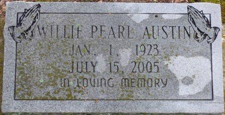AUSTIN, WILLIE PEARL - Montgomery County, Alabama | WILLIE PEARL AUSTIN - Alabama Gravestone Photos