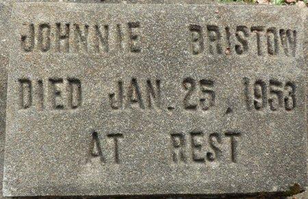 BRISTOW, JOHNNIE - Montgomery County, Alabama | JOHNNIE BRISTOW - Alabama Gravestone Photos