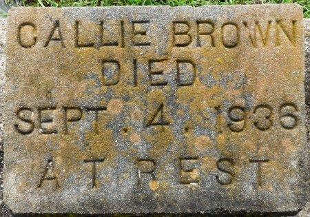 BROWN, CALLIE - Montgomery County, Alabama | CALLIE BROWN - Alabama Gravestone Photos