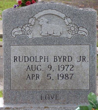 BYRD JR., RUDOLPH - Montgomery County, Alabama | RUDOLPH BYRD JR. - Alabama Gravestone Photos