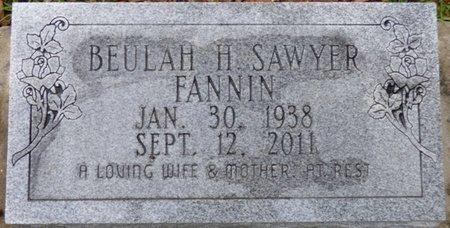 FANNIN, BEULAH H - Montgomery County, Alabama | BEULAH H FANNIN - Alabama Gravestone Photos
