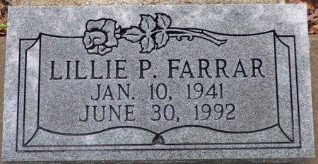 FARRAR, LILLIE P - Montgomery County, Alabama | LILLIE P FARRAR - Alabama Gravestone Photos