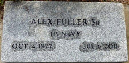 FULLER SR. (VETERAN), ALEX - Montgomery County, Alabama | ALEX FULLER SR. (VETERAN) - Alabama Gravestone Photos