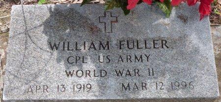 FULLER (VETERAN WWII), WILLIAM - Montgomery County, Alabama | WILLIAM FULLER (VETERAN WWII) - Alabama Gravestone Photos