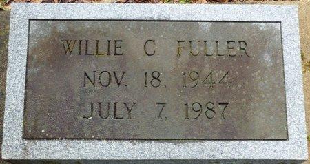FULLER, WILLIE C - Montgomery County, Alabama | WILLIE C FULLER - Alabama Gravestone Photos