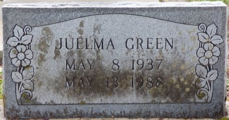 GREEN, JUELMA - Montgomery County, Alabama | JUELMA GREEN - Alabama Gravestone Photos
