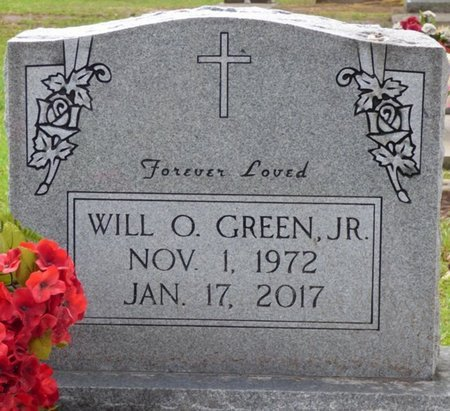 GREEN JR., WILL O - Montgomery County, Alabama | WILL O GREEN JR. - Alabama Gravestone Photos