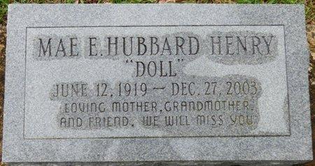 "HUBBARD HENRY, MAE E ""DOLL"" - Montgomery County, Alabama | MAE E ""DOLL"" HUBBARD HENRY - Alabama Gravestone Photos"