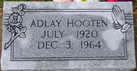 HOOTEN, ADLAY - Montgomery County, Alabama | ADLAY HOOTEN - Alabama Gravestone Photos