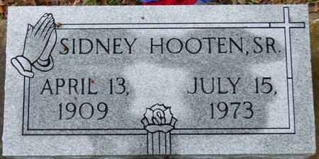 HOOTEN SR., SIDNEY - Montgomery County, Alabama | SIDNEY HOOTEN SR. - Alabama Gravestone Photos