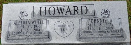 WHITE HOWARD, ALBERTA - Montgomery County, Alabama | ALBERTA WHITE HOWARD - Alabama Gravestone Photos