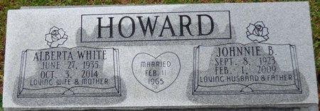 HOWARD, JOHNNIE B - Montgomery County, Alabama   JOHNNIE B HOWARD - Alabama Gravestone Photos