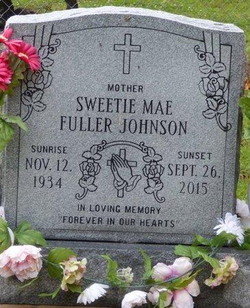 FULLER JOHNSON, SWEETIE MAE - Montgomery County, Alabama | SWEETIE MAE FULLER JOHNSON - Alabama Gravestone Photos