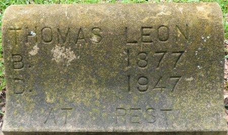 LEON, THOMAS - Montgomery County, Alabama | THOMAS LEON - Alabama Gravestone Photos
