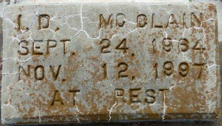 MCCLAIN, I.D. - Montgomery County, Alabama | I.D. MCCLAIN - Alabama Gravestone Photos
