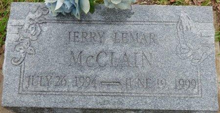 MCCLAIN, JERRY LEMAR - Montgomery County, Alabama | JERRY LEMAR MCCLAIN - Alabama Gravestone Photos