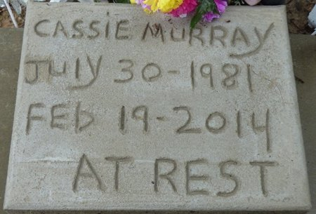 MURRAY, CASSIE - Montgomery County, Alabama | CASSIE MURRAY - Alabama Gravestone Photos