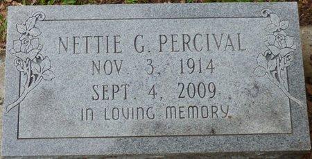 PERCIVAL, NETTIE G - Montgomery County, Alabama | NETTIE G PERCIVAL - Alabama Gravestone Photos