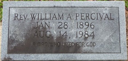 PERCIVAL, WILLIAM A - Montgomery County, Alabama | WILLIAM A PERCIVAL - Alabama Gravestone Photos