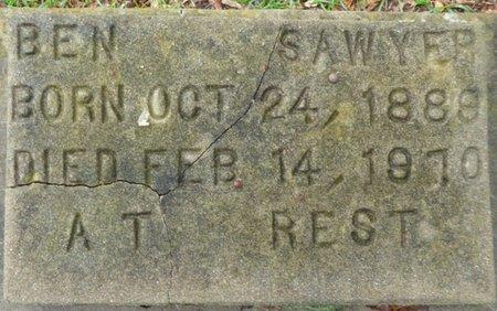 SAWYER, BEN - Montgomery County, Alabama | BEN SAWYER - Alabama Gravestone Photos