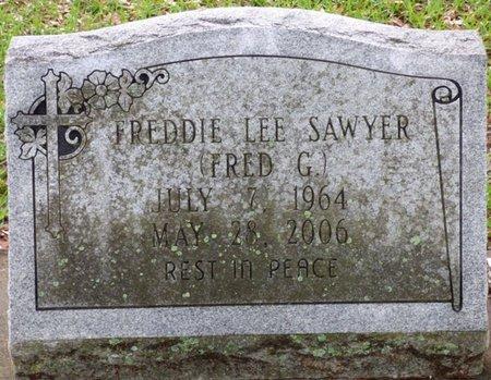 "SAWYER, FREDDIE LEE ""FRED G"" - Montgomery County, Alabama | FREDDIE LEE ""FRED G"" SAWYER - Alabama Gravestone Photos"