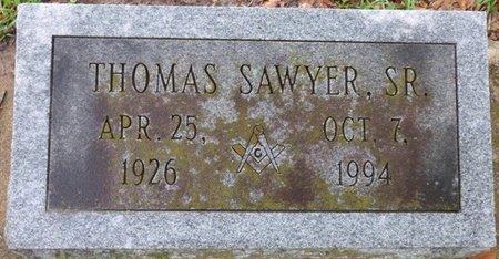 SAWYER SR., THOMAS - Montgomery County, Alabama | THOMAS SAWYER SR. - Alabama Gravestone Photos