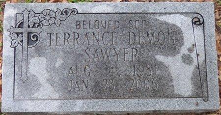 SAWYER, TERRANCE DEMON - Montgomery County, Alabama | TERRANCE DEMON SAWYER - Alabama Gravestone Photos