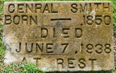 SMITH, CENRAL - Montgomery County, Alabama   CENRAL SMITH - Alabama Gravestone Photos