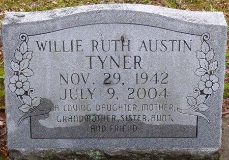 TYNER, WILLIE RUTH - Montgomery County, Alabama | WILLIE RUTH TYNER - Alabama Gravestone Photos