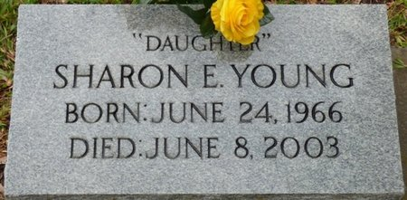 YOUNG, SHARON E - Montgomery County, Alabama | SHARON E YOUNG - Alabama Gravestone Photos