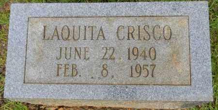 CRISCO, LAQUITA - Morgan County, Alabama   LAQUITA CRISCO - Alabama Gravestone Photos