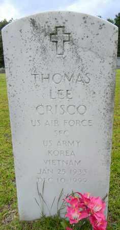 CRISCO (VETERAN 2 WARS), THOMAS LEE - Morgan County, Alabama | THOMAS LEE CRISCO (VETERAN 2 WARS) - Alabama Gravestone Photos