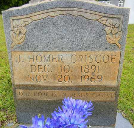CRISCOE, J HOMER - Morgan County, Alabama | J HOMER CRISCOE - Alabama Gravestone Photos