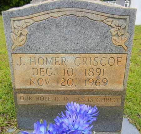 CRISCOE, J HOMER - Morgan County, Alabama | J HOMER CRISCOE - Alabama Gravestone Photos