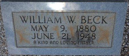 BECK, WILLIAM WILEY - Pike County, Alabama | WILLIAM WILEY BECK - Alabama Gravestone Photos