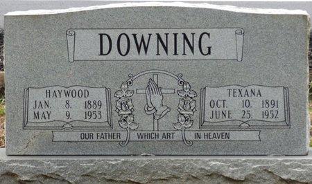 DOWNING, TEXANA - Pike County, Alabama   TEXANA DOWNING - Alabama Gravestone Photos