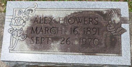FLOWERS, ALEX - Pike County, Alabama   ALEX FLOWERS - Alabama Gravestone Photos