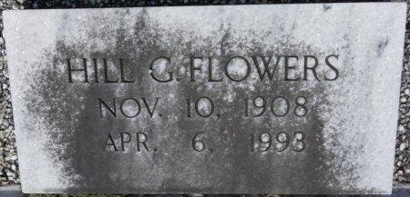 FLOWERS, HILL G - Pike County, Alabama | HILL G FLOWERS - Alabama Gravestone Photos