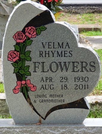 FLOWERS, VELMA - Pike County, Alabama | VELMA FLOWERS - Alabama Gravestone Photos