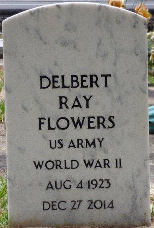 FLOWERS (VETERAN WWII), DELBERT RAY - Pike County, Alabama   DELBERT RAY FLOWERS (VETERAN WWII) - Alabama Gravestone Photos