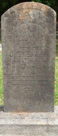 FRAZIER, ELLA - Pike County, Alabama | ELLA FRAZIER - Alabama Gravestone Photos